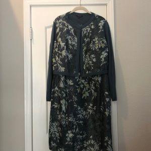 Lafayette 148 dress with matching sweater Size XL